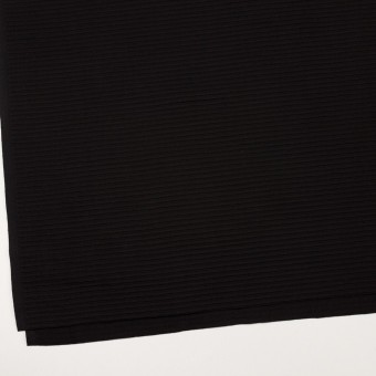 コットン×ボーダー(ブラック)×ピンタック サムネイル2