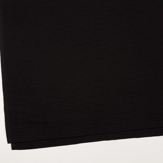 コットン×ボーダー(ブラック)×ピンタック イメージ2