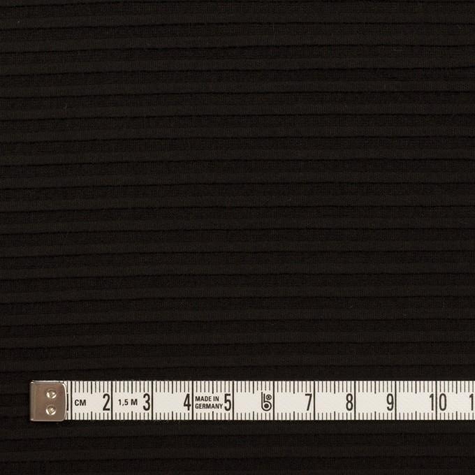 コットン×ボーダー(ブラック)×ピンタック イメージ4
