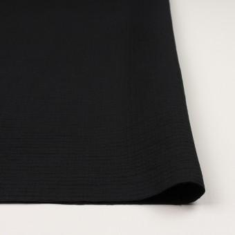 コットン×無地(ブラック)×二重織 サムネイル3