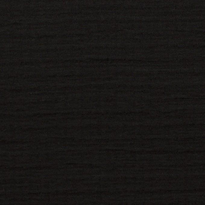 コットン×無地(ブラック)×二重織 イメージ1