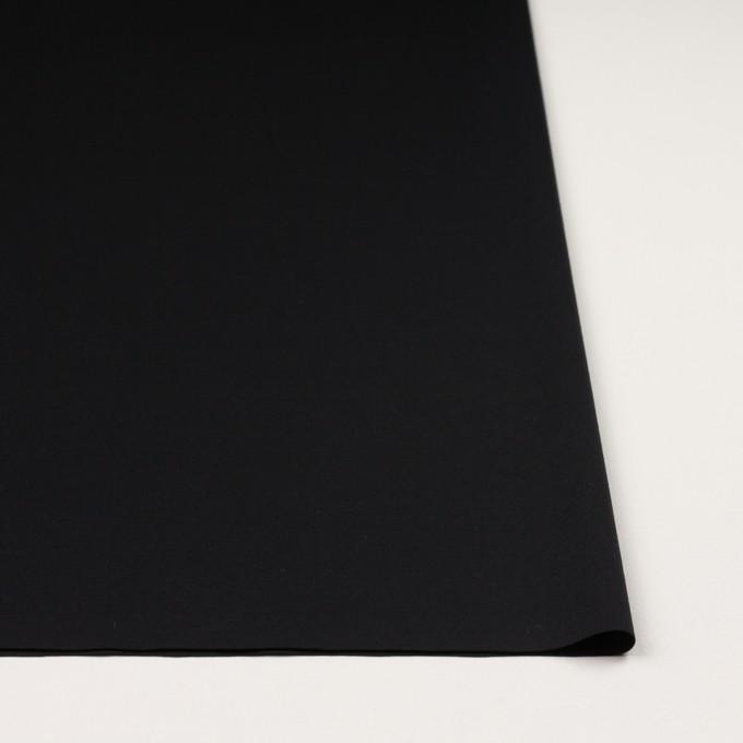 コットン×無地(ブラック)×スムースニット イメージ3