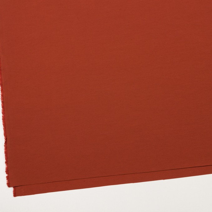 コットン&ナイロン×無地(レッドブリック)×タッサーポプリン_全5色 イメージ2