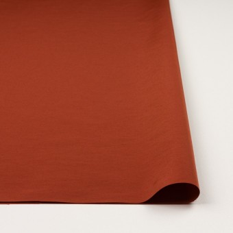 コットン&ナイロン×無地(レッドブリック)×タッサーポプリン_全5色 サムネイル3
