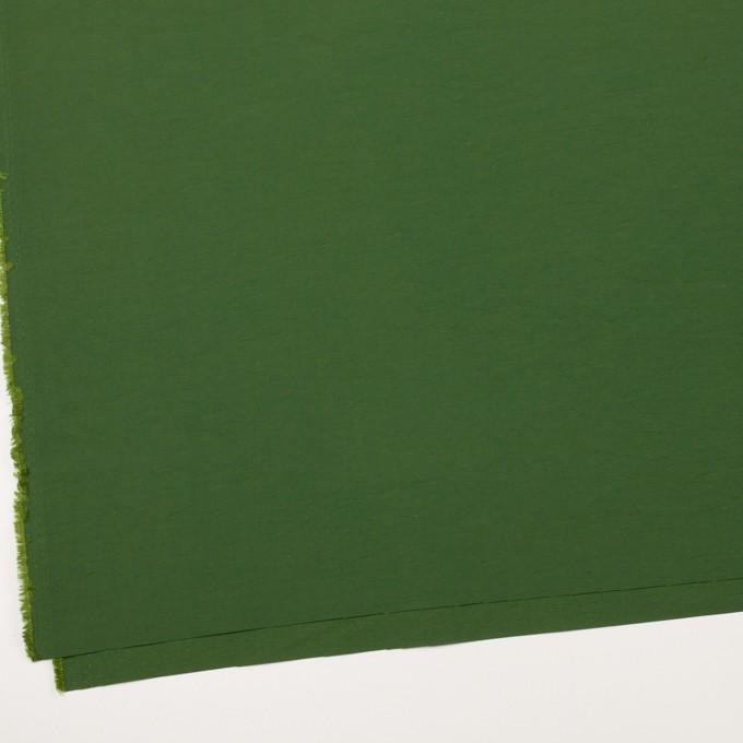 コットン&ナイロン×無地(フォレストグリーン)×タッサーポプリン_全5色 イメージ2