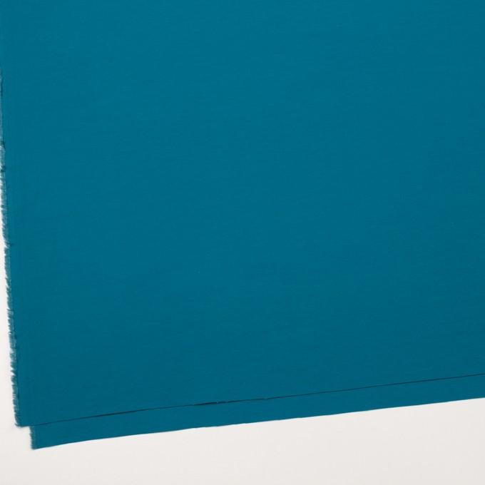 コットン&ナイロン×無地(ターコイズブルー)×タッサーポプリン_全5色 イメージ2
