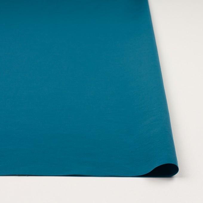 コットン&ナイロン×無地(ターコイズブルー)×タッサーポプリン_全5色 イメージ3