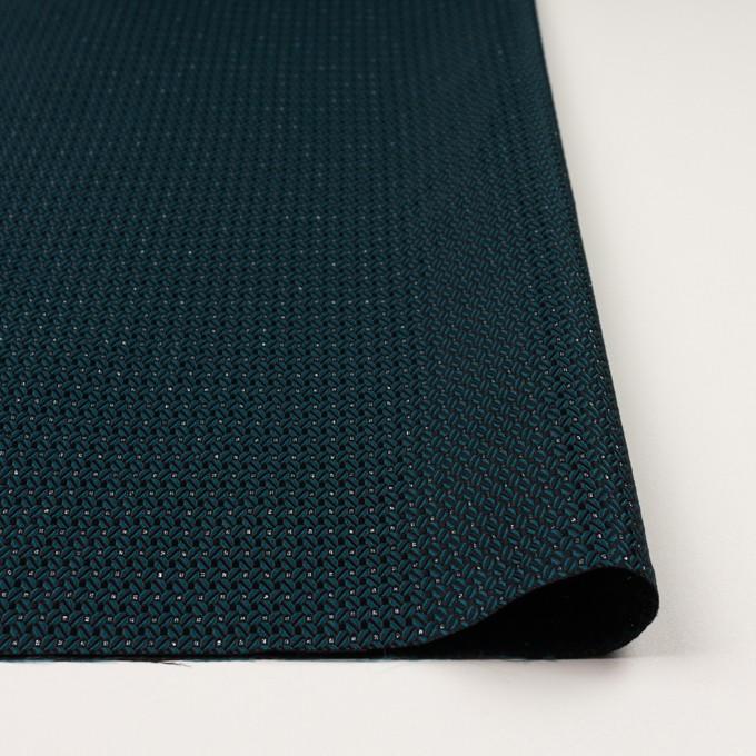ポリエステル&アクリル混×小紋(バルビゾン&ブラック)×ジャガード イメージ3