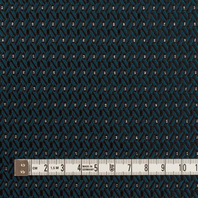 ポリエステル&アクリル混×小紋(バルビゾン&ブラック)×ジャガード イメージ4