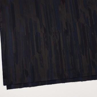 ポリエステル×幾何学模様(ネイビー&チャコール)×ジャガード サムネイル2