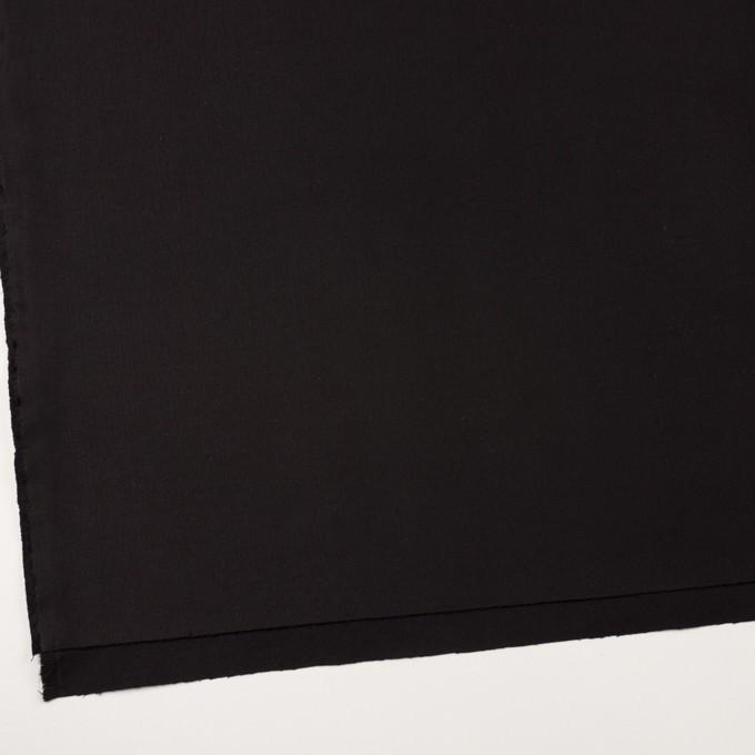 コットン×無地(ブラック)×グログラン イメージ2