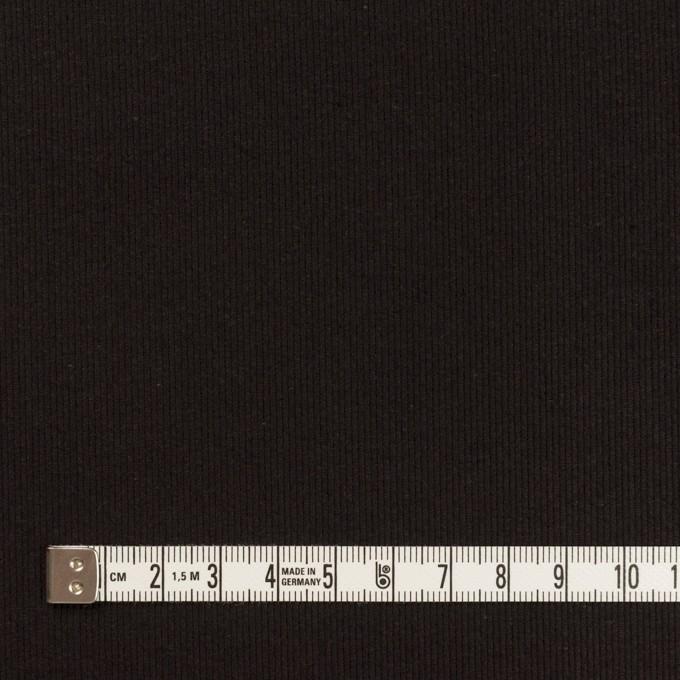 コットン×無地(ブラック)×グログラン イメージ4