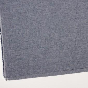 コットン&ポリウレタン×ミックス(アッシュブルー)×ヘリンボーン・ワッシャー_全3色 サムネイル2