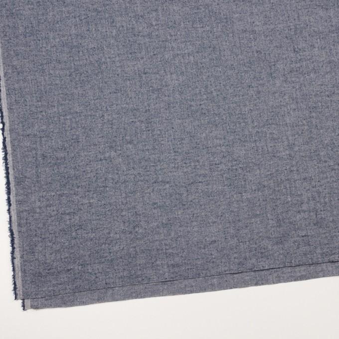 コットン&ポリウレタン×ミックス(アッシュブルー)×ヘリンボーン・ワッシャー_全3色 イメージ2