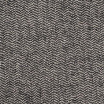 コットン&ポリウレタン×ミックス(チャコール)×ヘリンボーン・ワッシャー_全3色 サムネイル1