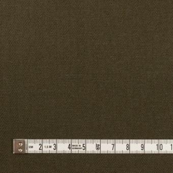 コットン×無地(ダークカーキグリーン)×ヘリンボーン サムネイル4