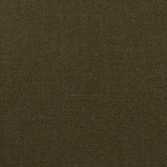 コットン×無地(ダークカーキグリーン)×ヘリンボーン サムネイル1