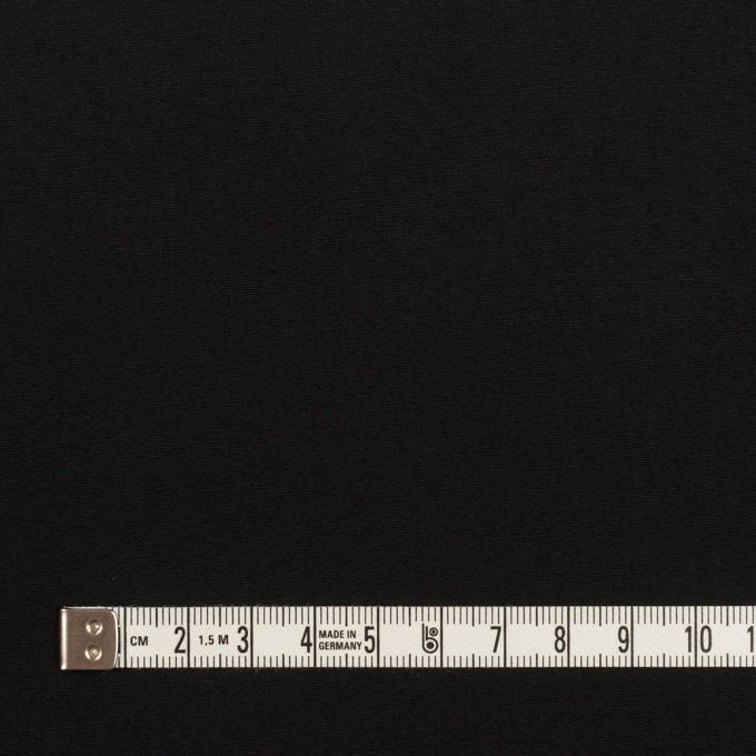 コットン×無地(ブラック)×高密ポプリン イメージ4