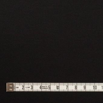コットン&ポリエステル混×無地(ブラック)×チノクロス・ストレッチ サムネイル4