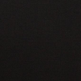 コットン&ポリエステル混×無地(ブラック)×チノクロス・ストレッチ