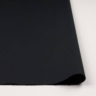 コットン&ナイロン×無地(ブラック)×サージ サムネイル3
