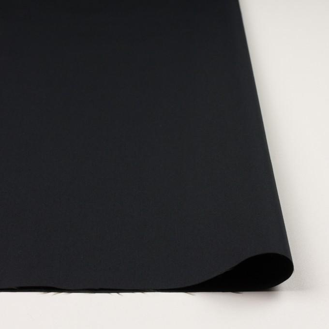 コットン&ナイロン×無地(ブラック)×サージ イメージ3