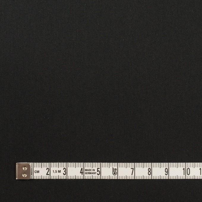 コットン&ナイロン×無地(ブラック)×サージ イメージ4