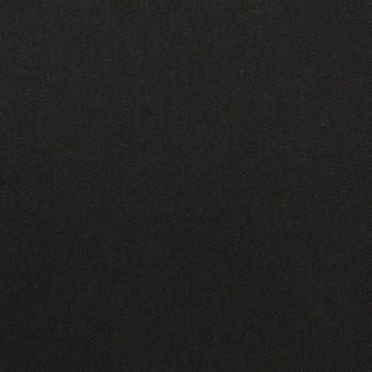 コットン&ナイロン×無地(ブラック)×サージ サムネイル1