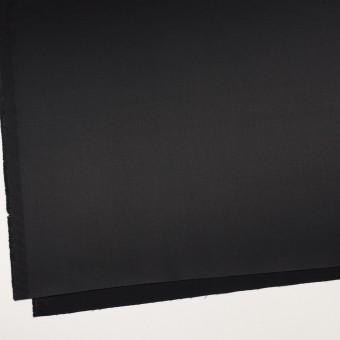 コットン&レーヨン混×無地(ブラック)×サテンストレッチ サムネイル2