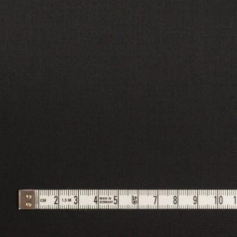 コットン&レーヨン混×無地(ブラック)×サテンストレッチ サムネイル4