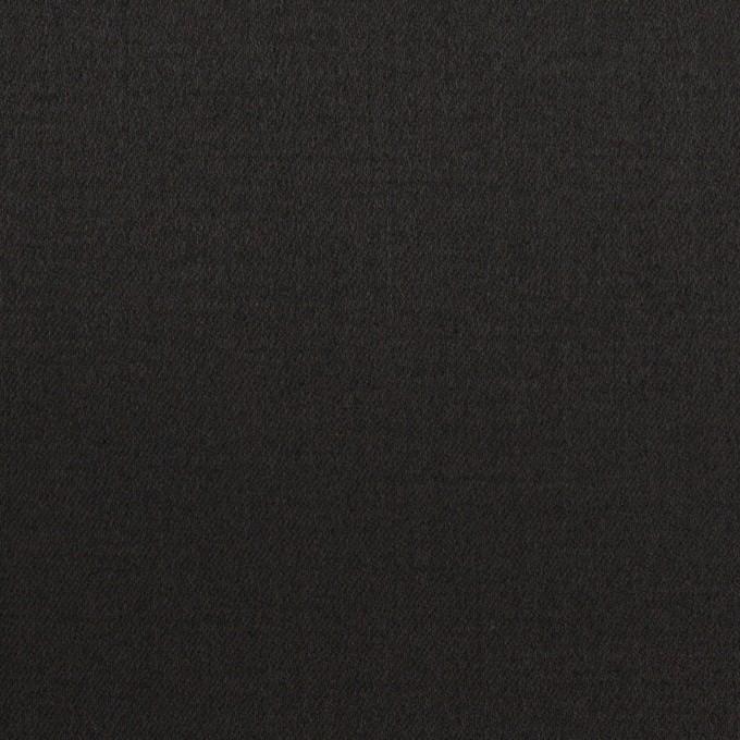 コットン&レーヨン混×無地(ブラック)×サテンストレッチ イメージ1