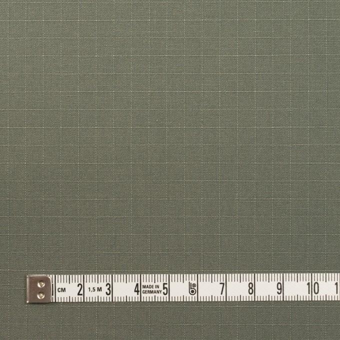 コットン×無地(アイビーグリーン)×リップストップ イメージ4