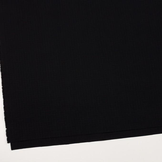 コットン×無地(ブラック)×リップストップ_全2色 イメージ2
