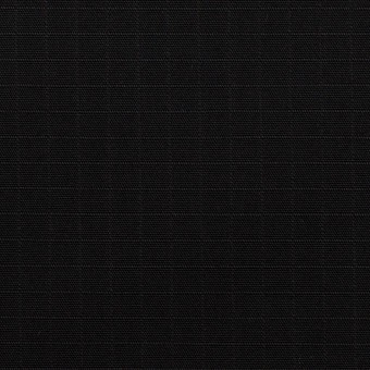 コットン×無地(ブラック)×リップストップ_全2色
