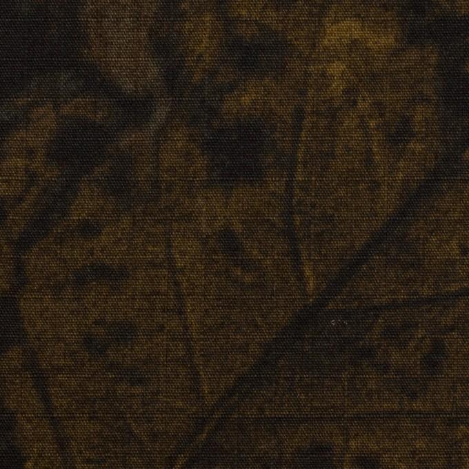 コットン×ボタニカル(セピア)×リップストップ_全2色 イメージ1