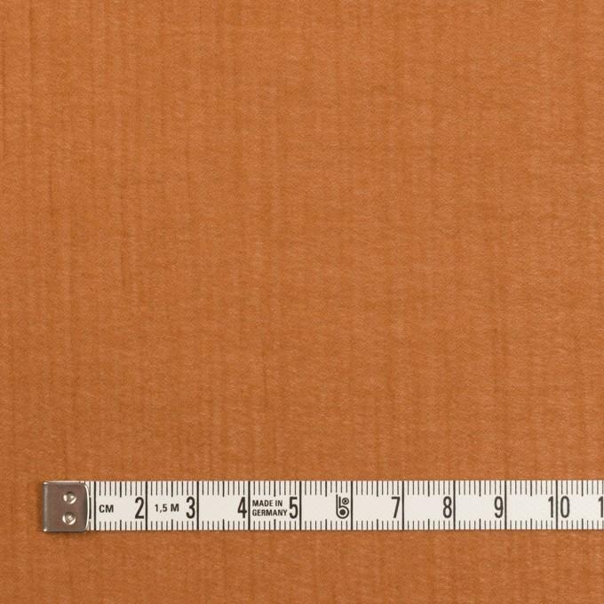 コットン×無地(パーシモンオレンジ)×ジョーゼット_全4色 イメージ4
