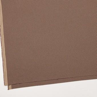 ポリエステル&レーヨン混×チェック(ベージュ)×千鳥格子ストレッチ_全3色 サムネイル2