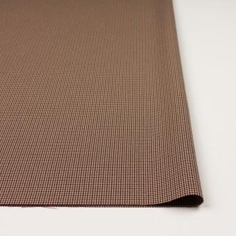 ポリエステル&レーヨン混×チェック(ベージュ)×千鳥格子ストレッチ_全3色 サムネイル3