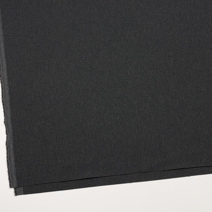 ポリエステル&レーヨン混×チェック(チャコールグレー)×千鳥格子ストレッチ_全3色 イメージ2