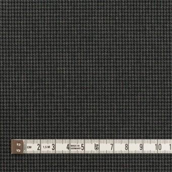 ポリエステル&レーヨン混×チェック(チャコールグレー)×千鳥格子ストレッチ_全3色 サムネイル4