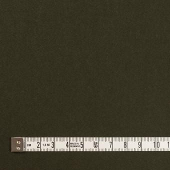 コットン×無地(ダークカーキグリーン)×モールスキン サムネイル4