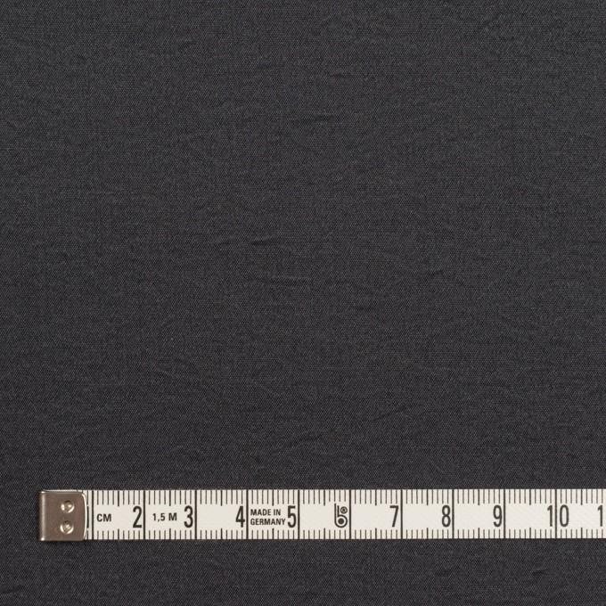 シルク&ナイロン×無地(チャコール)×ポプリンワッシャー イメージ4