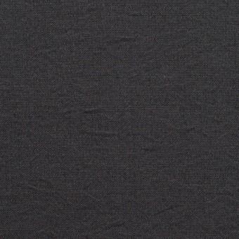 シルク&ナイロン×無地(チャコール)×ポプリンワッシャー サムネイル1