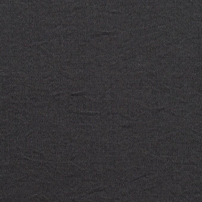シルク&ナイロン×無地(チャコール)×ポプリンワッシャー イメージ1