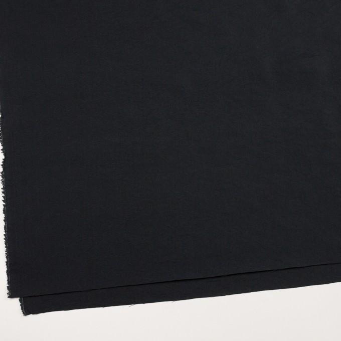 シルク&ナイロン×無地(ブラック)×ポプリンワッシャー イメージ2