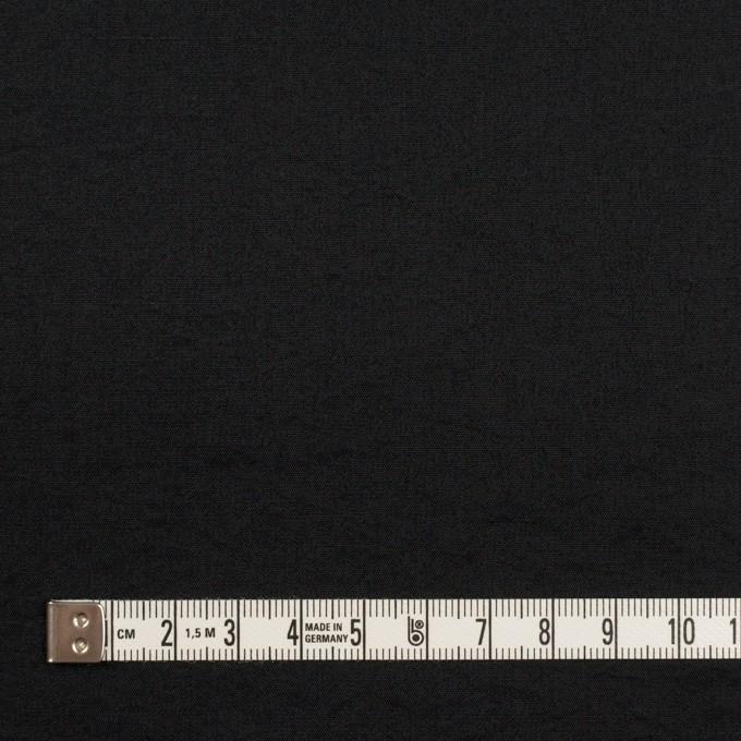 シルク&ナイロン×無地(ブラック)×ポプリンワッシャー イメージ4