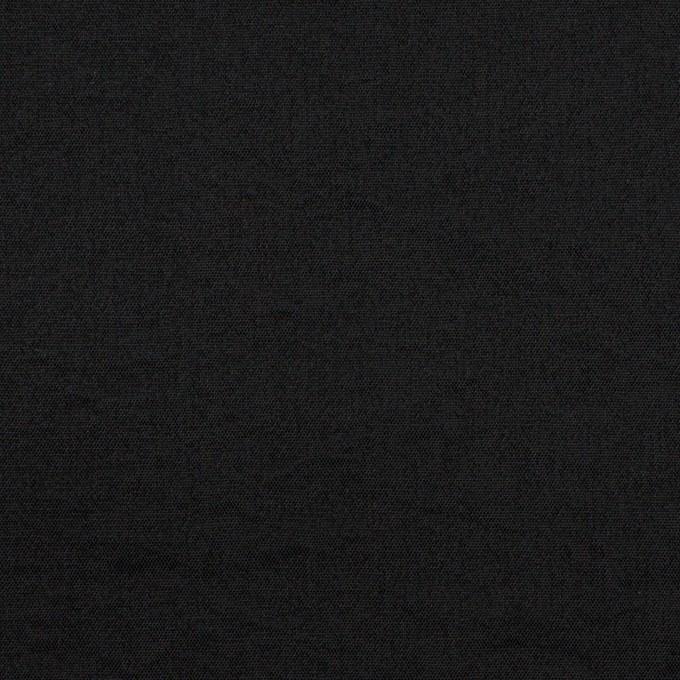 シルク&ナイロン×無地(ブラック)×ポプリンワッシャー イメージ1