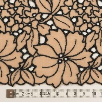 ウール×フラワー(ベージュ)×ガーゼ刺繍_全2色 サムネイル6