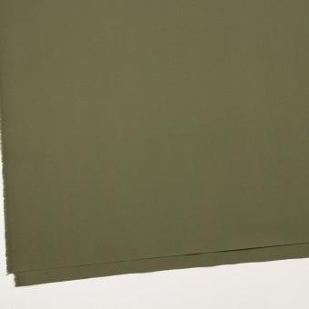 コットン&ポリウレタン×無地(カーキグリーン)×ブロードストレッチ_全2色 サムネイル2