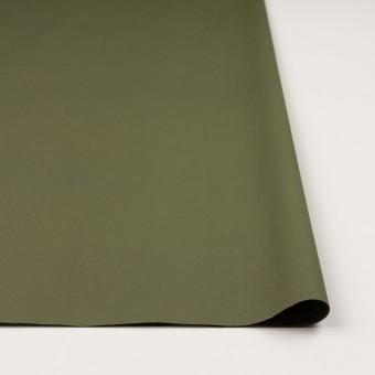 コットン&ポリウレタン×無地(カーキグリーン)×ブロードストレッチ_全2色 サムネイル3